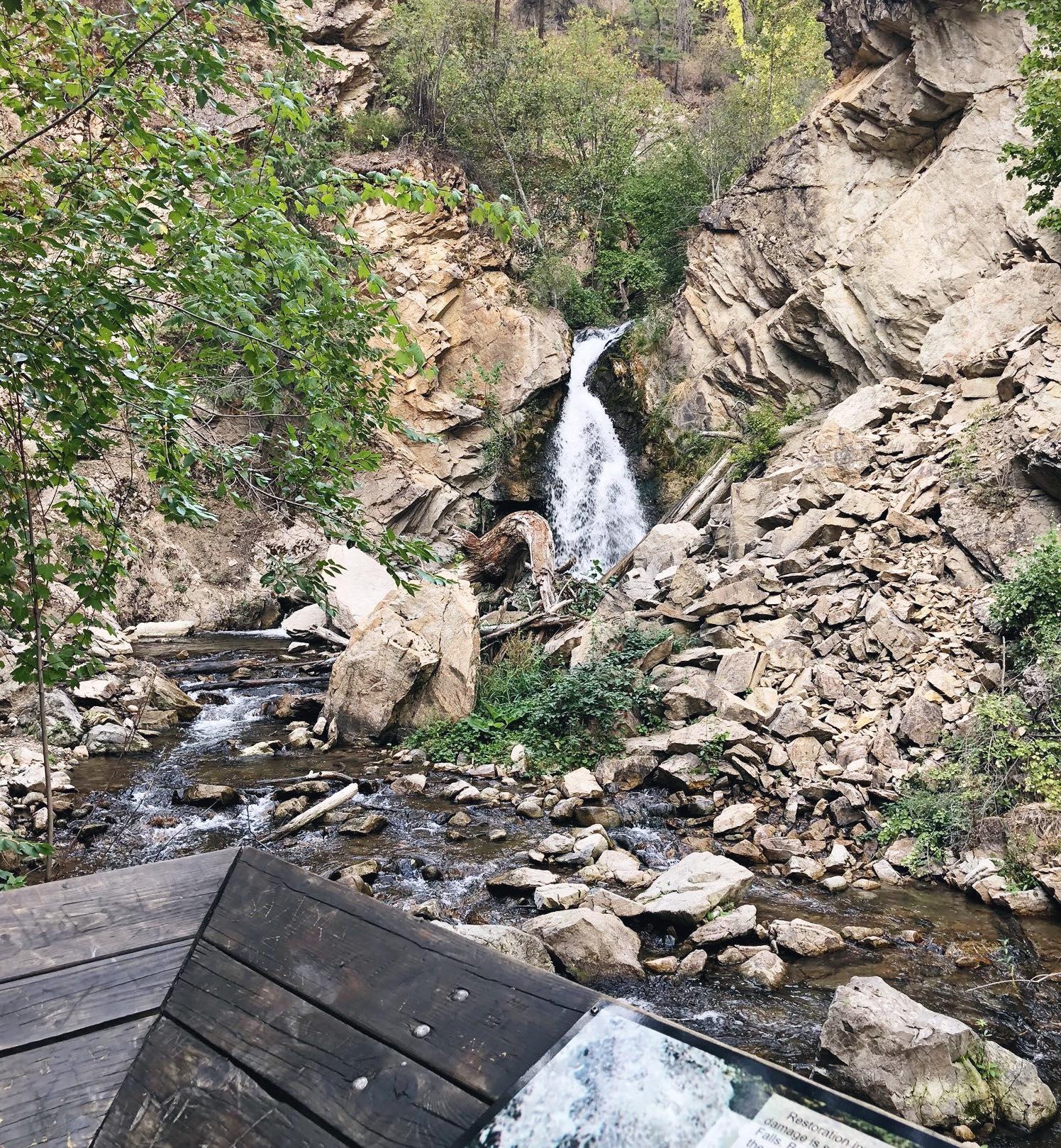 kelowna waterfalls